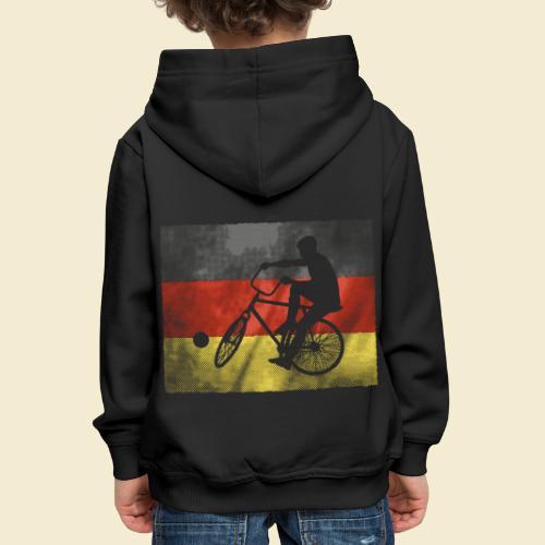 Radball | Flagge Deutschland - Kinder Premium Hoodie