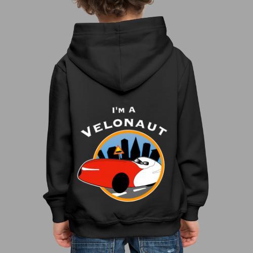 Im a velonaut - Lasten premium huppari