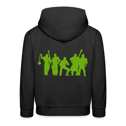 Jugger Schattenspieler gruen - Kinder Premium Hoodie