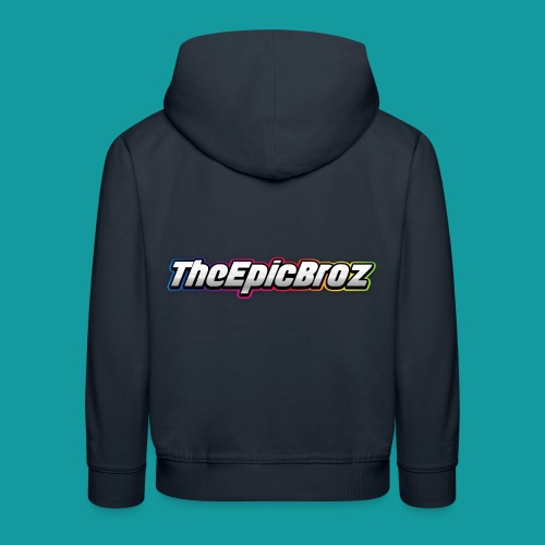 TheEpicBroz - Kinderen trui Premium met capuchon