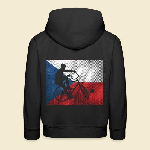 Radball | Flagge Tschechien - Kinder Premium Hoodie