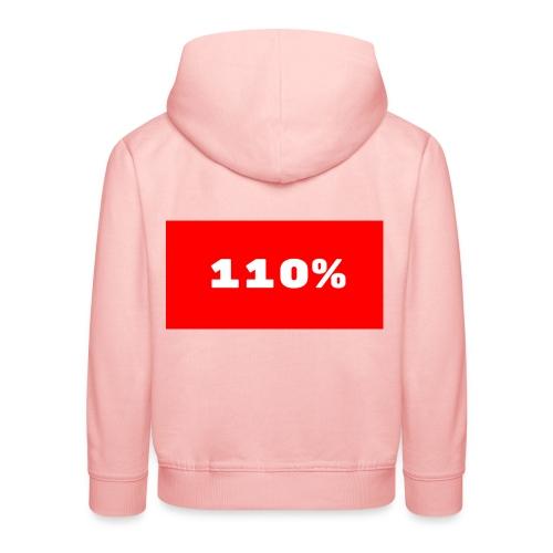 110% Rulez - Felpa con cappuccio Premium per bambini