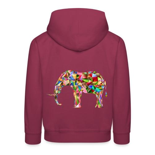 Gestandener Elefant - Kinder Premium Hoodie