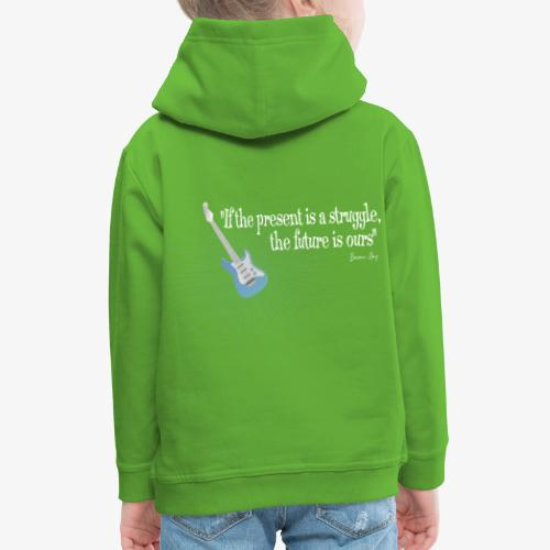Frases celebres 01 - Sudadera con capucha premium niño
