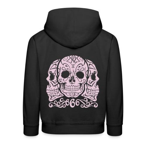 Skull Dia de los muertos - Pull à capuche Premium Enfant