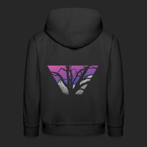 Purple Branches - Kids' Premium Hoodie
