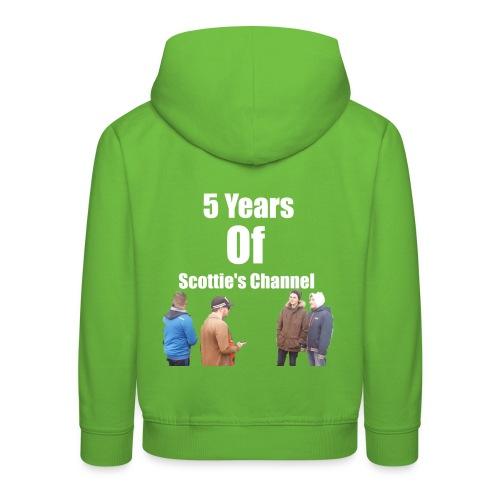 5 Years Of Scottie's Channel - Kids' Premium Hoodie