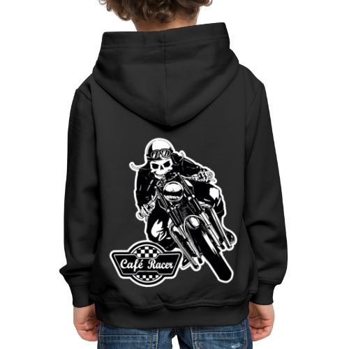 Café Racer - Sudadera con capucha premium niño