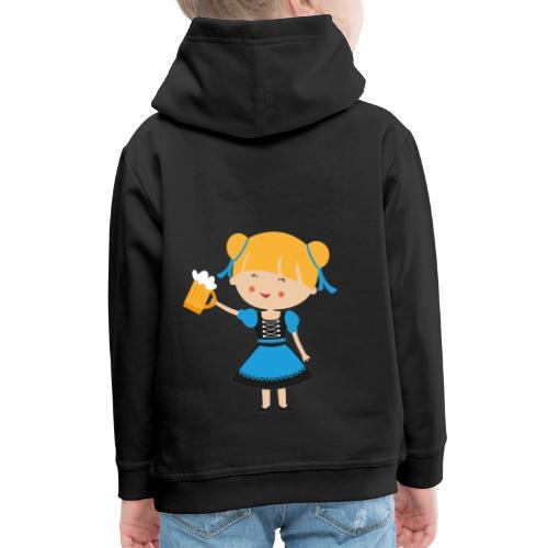 Happy Meitlis - Europa - Kinder Premium Hoodie