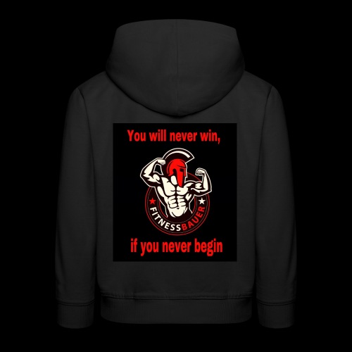 You will never win - Kinder Premium Hoodie