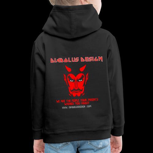 Design Ol Diabolus Head - Kids' Premium Hoodie