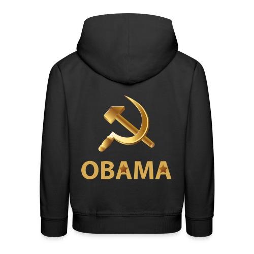 obama russian conf - Premium-Luvtröja barn
