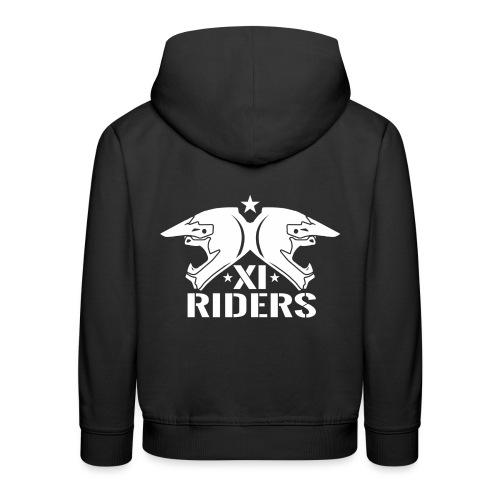 XIrider Logo weiß png - Kinder Premium Hoodie