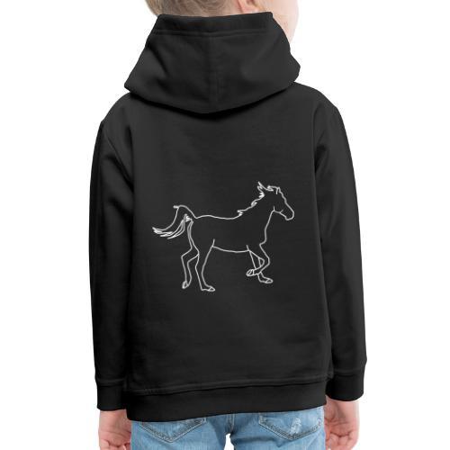 Pferd - Kinder Premium Hoodie