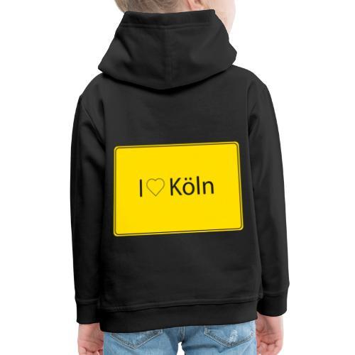 I love Köln - Kinder Premium Hoodie
