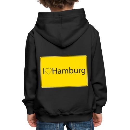 I love hamburg - Kinder Premium Hoodie