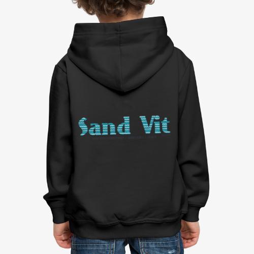 Sand Vit - Felpa con cappuccio Premium per bambini