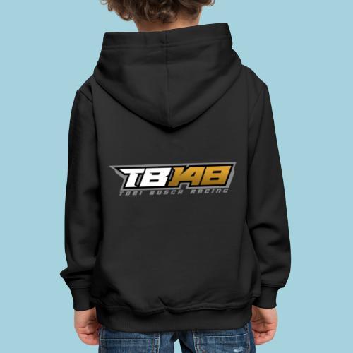 Tobi Logo Grau - Kinder Premium Hoodie