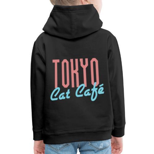 Tokyo Katzen Café Hobby Katze Haustiere - Kinder Premium Hoodie