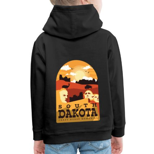Cooles South Dakota Design online - Kinder Premium Hoodie