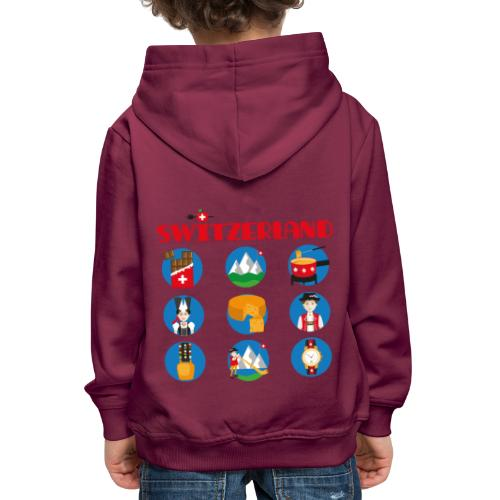 Switzerland - Kinder Premium Hoodie
