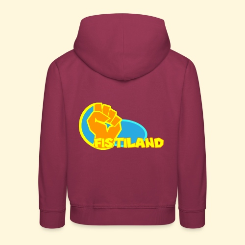 FISTILAND en couleur - Pull à capuche Premium Enfant