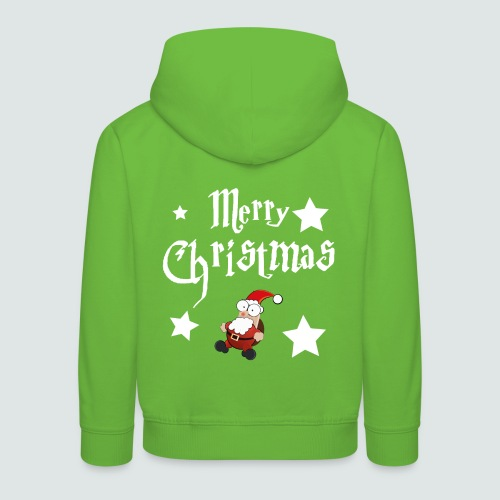 Merry Christmas - Ugly Christmas Sweater - Kinder Premium Hoodie