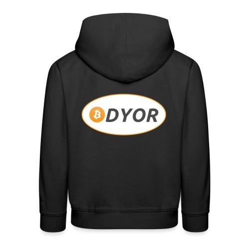 DYOR - option 2 - Kids' Premium Hoodie