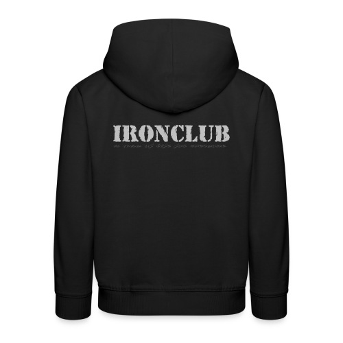 IRONCLUB - a way of life for everyone - Premium Barne-hettegenser