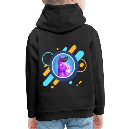 Suntted Logo Effect - Pull à capuche Premium Enfant