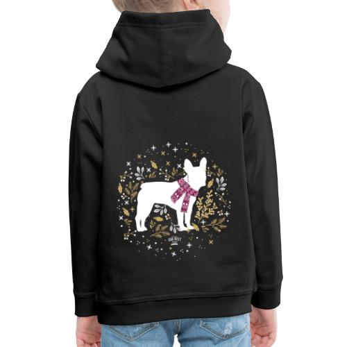 French Bulldog Winter - Kinder Premium Hoodie