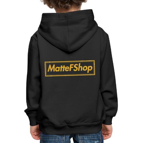 Gold Collection! (MatteFShop Original) - Felpa con cappuccio Premium per bambini