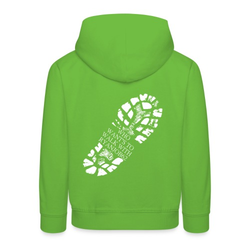 Walk With Ryanjob62 - Kids' Premium Hoodie