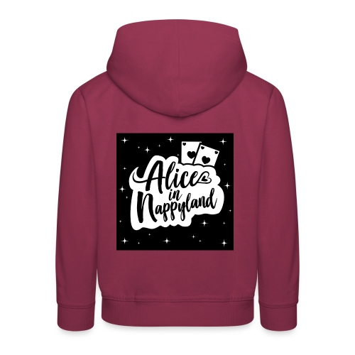 Alice in Nappyland 1 - Kids' Premium Hoodie