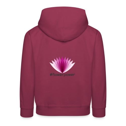 #flowerpower - Kids' Premium Hoodie