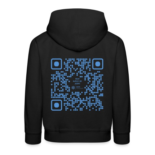 QR The New Internet Shouldn t Be Blockchain Based - Kids' Premium Hoodie