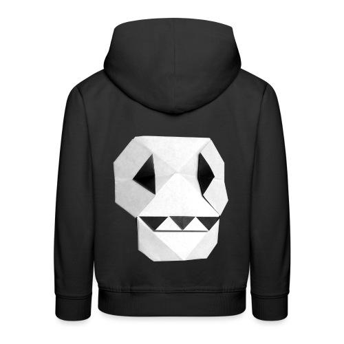 Origami Skull - Skull Origami - Calavera - Teschio - Kids' Premium Hoodie