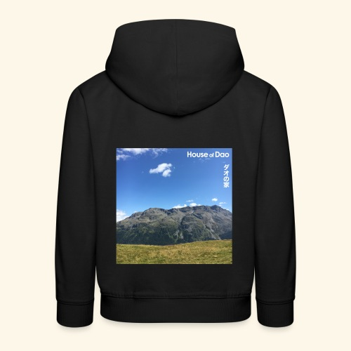 House of Dao - Top of Mountain View - Kinder Premium Hoodie