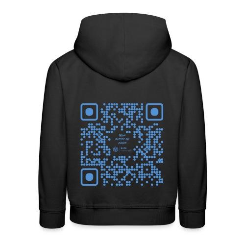 QR The New Internet Shouldn t Be Blockchain Based - Kids' Premium Hoodie