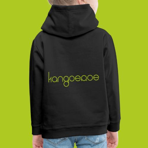 Green Kangoeroe design - Pull à capuche Premium Enfant