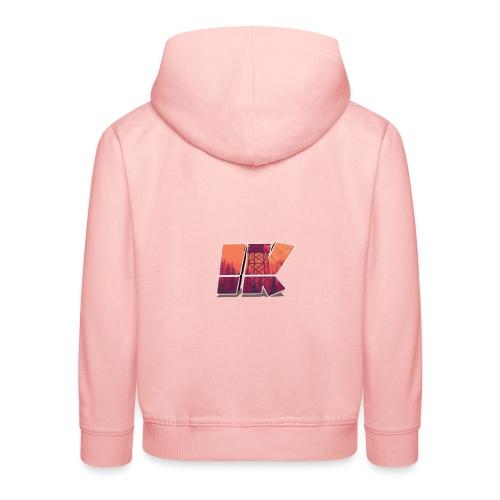 Ishaan Kulkarni Logo (1) - Kids' Premium Hoodie