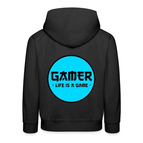 Gamer Life is a Game - Kinder Premium Hoodie