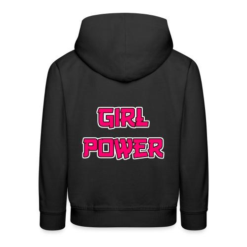 Girl Power - Kinder Premium Hoodie