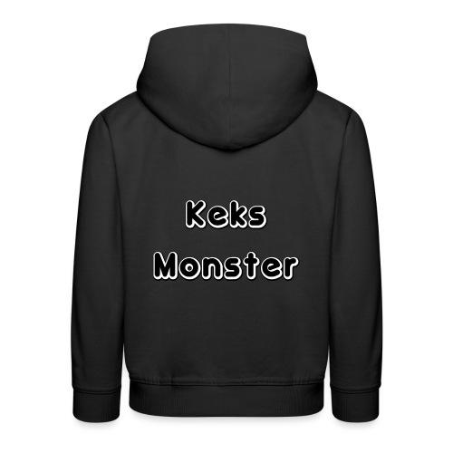 Keks Monster - Kinder Premium Hoodie