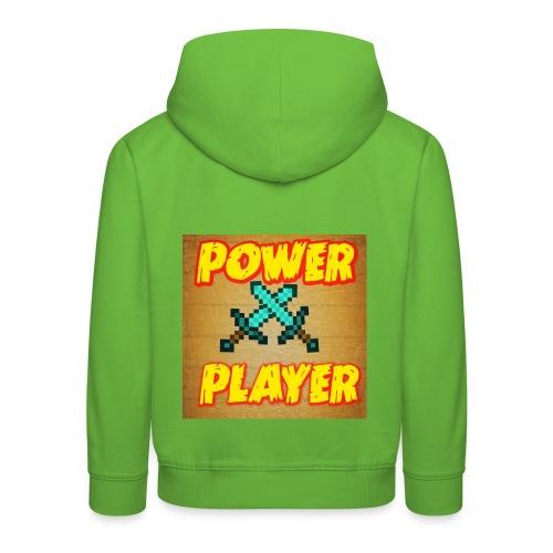 NUOVA LINEA POWER PLAYER - Felpa con cappuccio Premium per bambini
