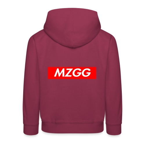 MZGG FIRST - Premium-Luvtröja barn