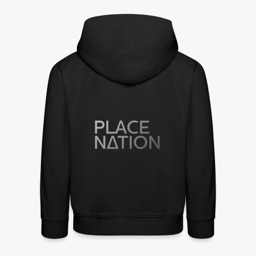 Place Nation Official logo - Kids' Premium Hoodie