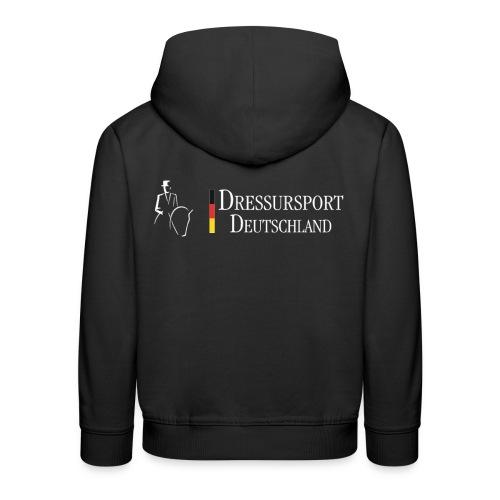 dressursport deutschland horizontal r - Kinder Premium Hoodie