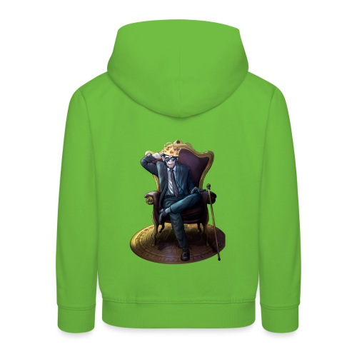 Bitcoin Monkey King - Gamma Edition - Kinder Premium Hoodie