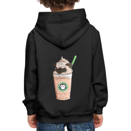 Catpuccino bright - Kids' Premium Hoodie
